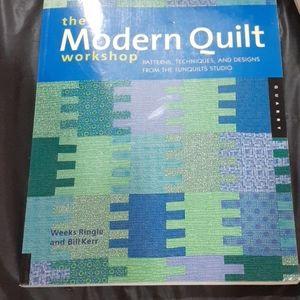 The modern quilt workshop book